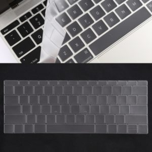 Keyboard Protector Silica Gel Film for MacBook Retina 12 / Pro 13 (A1534 / A1708)(Transparent)