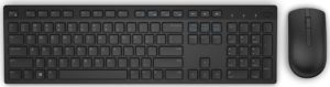 Dell Keyboard & Mouse KM636 Wireless QWERTY Greek - Black [580-ADGB]
