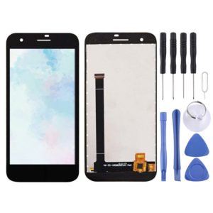 LCD Screen and Digitizer Full Assembly for Vodafone Smart E8 VFD510(Black)