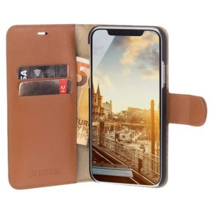 JT Berlin JT Berlin iPhone 11 Pro Leather BookCase Cognac (10527)