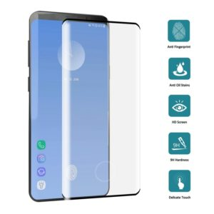 0.3mm 9H 3D Full Screen Tempered Glass Film for Galaxy S10+, Screen Fingerprint Unlocking is Supported