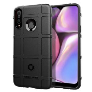 Full Coverage Shockproof TPU Case for Galaxy A20s(Black)