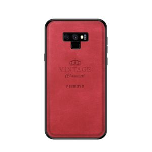 PINWUYO Shockproof Waterproof Full Coverage PC + TPU + Skin Protective Case for Galaxy Note 9 (Red) (PINWUYO)