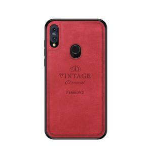 PINWUYO Shockproof Waterproof Full Coverage PC + TPU + Skin Protective Case for Asus Zenfone Max Pro (M2) ZB631KL (Red) (PINWUYO)