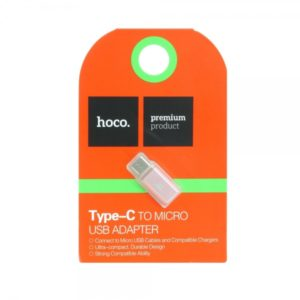 HOCO ADAPTER TYPE C TO MICRO USB rose gold