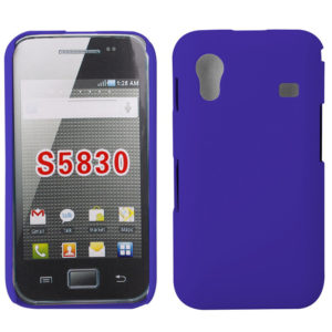 Plastic Case for Samsung Galaxy Ace S5830(Blue)