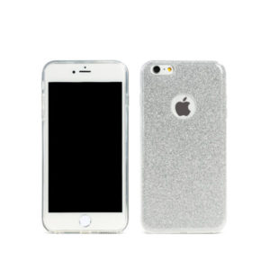 Protector for iPhone 6/6S, Remax Glitter, TPU, Slim, Silver - 51428