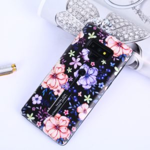 Embossed Painted TPU + PC Case with Holder for Galaxy Note9