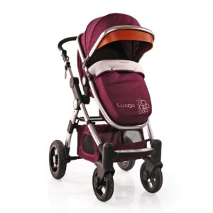 Πολυκαρότσι Cangaroo Luxor 2 in 1 Purple