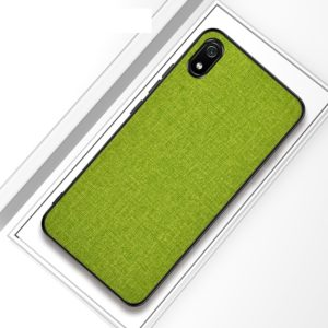 Shockproof Cloth Texture PC+ TPU Protective Case(Green)