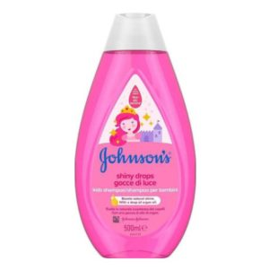 Johnson Johnson Kids Shiny Drops Shampoo 500ml