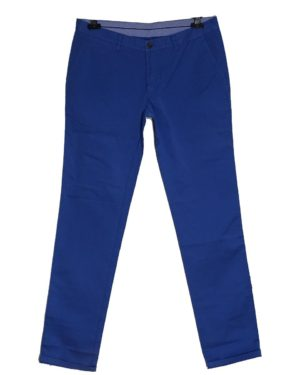 Παντελόνι CHINOS NORTH STAR cotton 97% 3% lycra μπλε