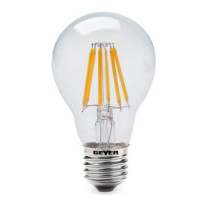 ΛΑΜΠΑ LED A60 E27 FILAMENT 6W 2700K Geyer LFAW276D Dimable