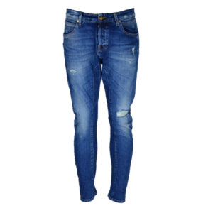 STAFF Jean Play Brannon Slim Tapered Fit Candiani Ανδρικό - Μπλε (5-895.448.PS2.043)