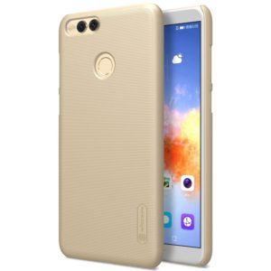 NILLKIN for Huawei Honor Play 7X Concave-convex Texture PC Protective Back Cover Case (Gold) (NILLKIN)