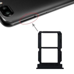 Black SIM Card Tray + SIM Card Tray for OnePlus 5T A5010