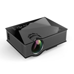 UC68 80ANSI 800x400 Home Theater Multimedia HD 1080P LED Projector, Support USB/SD/HDMI/VGA/IR