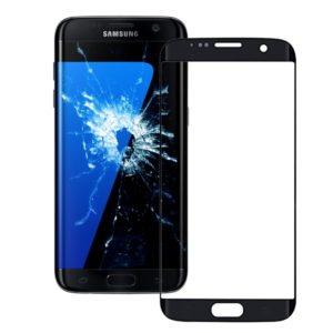 Original Front Screen Outer Glass Lens for Galaxy S7 Edge / G935(Black)