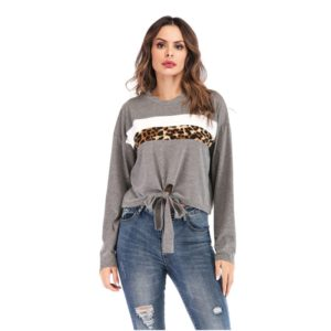 Fashion Personality Long-sleeved Shirts (Color:Grey Size:L)