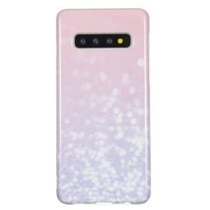 TPU Protective Case For Galaxy S10 Plus(Bright Pink)