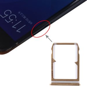 SIM Card Tray + SIM Card Tray for Xiaomi Mi 6(Gold)