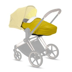 Cybex Μαλακό Πορτ Μπεμπέ Lite Cot Platinum Edition, Mustard Yellow
