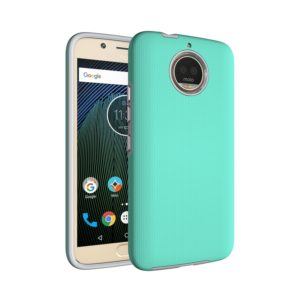 For Motorola Moto G5s Plus Anti-slip Armor Protective Case Back Cover Shell (Green)