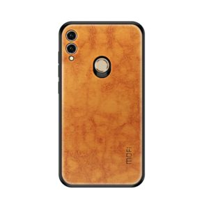MOFI Shockproof TPU + PC + Leather Pasted Case for Huawei Honor 8X(Light Brown) (MOFI)