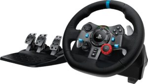 Logitech G29 Driving Force, Wheel and pedals set for PC, PS3, PS4 (941-000113)