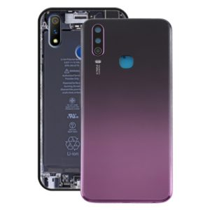 Battery Back Cover with Camera Lens for Vivo Y3(Purple)