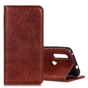 Magnetic Crazy Horse Texture Horizontal Flip Leather Case for Xiaomi Redmi 7, with Holder & Card Slots & Wallet (Brown)