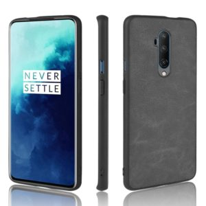 For OnePlus 7T PRO Shockproof Sheep Skin PC + PU + TPU Case(Light black)