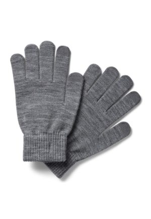 JACK&JONES JACHENRY KNIT GLOVES TOUCHSCREEN FRIENDLY (12158446) Grey Melange