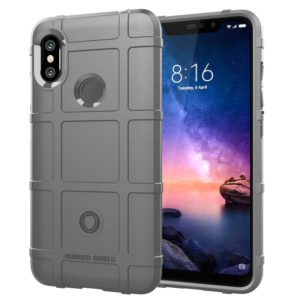 Full Coverage Shockproof TPU Case for Xiaomi Redmi Note 6(Grey)