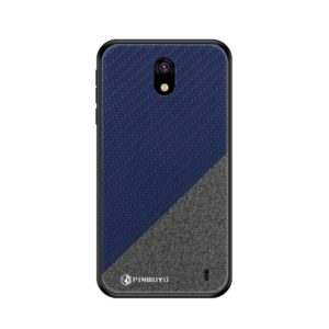 PINWUYO Honors Series Shockproof PC + TPU Protective Case for Nokia 1 Plus (Blue) (PINWUYO)