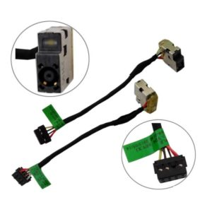 Βύσμα Τροφοδοσίας DC Power Jack Socket HP TOUCHSMART 14-F 15-F ENVY 15-K 17-1010sv DC JACK 8 PIN (κωδ.3448)
