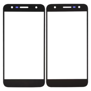 Front Screen Outer Glass Lens for LG X500 (Black)