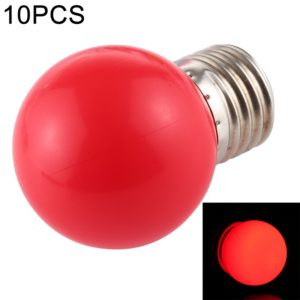 10 PCS 2W E27 2835 SMD Home Decoration LED Light Bulbs, AC 110V (Red Light)