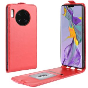 For Huawei Mate 30 Crazy Horse Vertical Flip Leather Protective Case(Red)