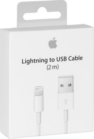 Apple Καλώδιο Φόρτισης Original iPhone,iPad or iPod Lightning to USB 2.0 Cable (2m)- MD819ZM/A