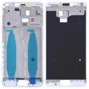 Front Housing LCD Frame Bezel Plate for Asus Zenfone 4 Max ZC554KL X00IS X00ID(White)