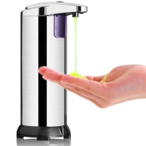 250ML Stainless Steel Automatic Soap Dispenser Infrared Sensor Soap Dispenser