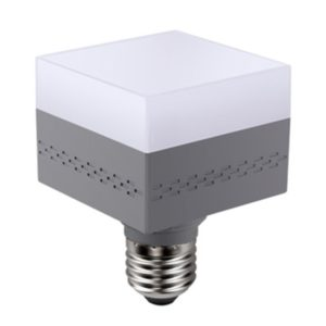 E27 Square High Brightness Bulb Indoor Lighting Energy Saving Bulb, Power:13W(3000K Warm White)