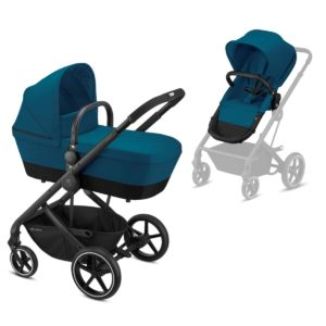 Cybex Καρότσι Balios S 2in1, River Blue