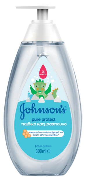 JS BABY ΚΡΕΜΟΣΑΠΟΥΝΟ PURE PROTECT 300ML