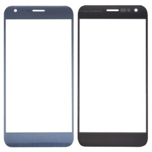 Front Screen Outer Glass Lens for LG X Cam / K580 (Silver)