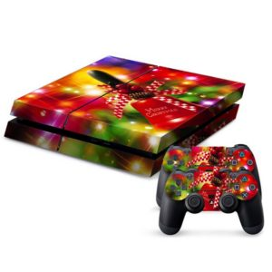 Christmas Series Decal Stickers for PS4 Game Console
