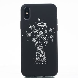 Wishing Bottle Painted Pattern Soft TPU Case for iPhone XS / X