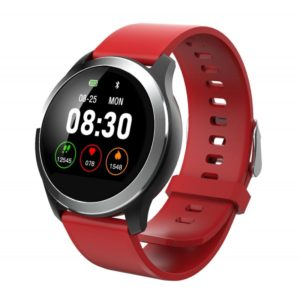 Z03 1.22 inches IPS Screen PPG+ECG Smart Bracelet IP68 Waterproof, Support Call Reminder / Heart Rate Monitoring / Blood Pressure Monitoring / Sleep Monitoring / Multiple Sport Modes (Red)
