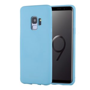 GOOSPERY SOFT FEELING for Galaxy S9 TPU Drop-proof Soft Protective Back Cover (Mint Green) (GOOSPERY)